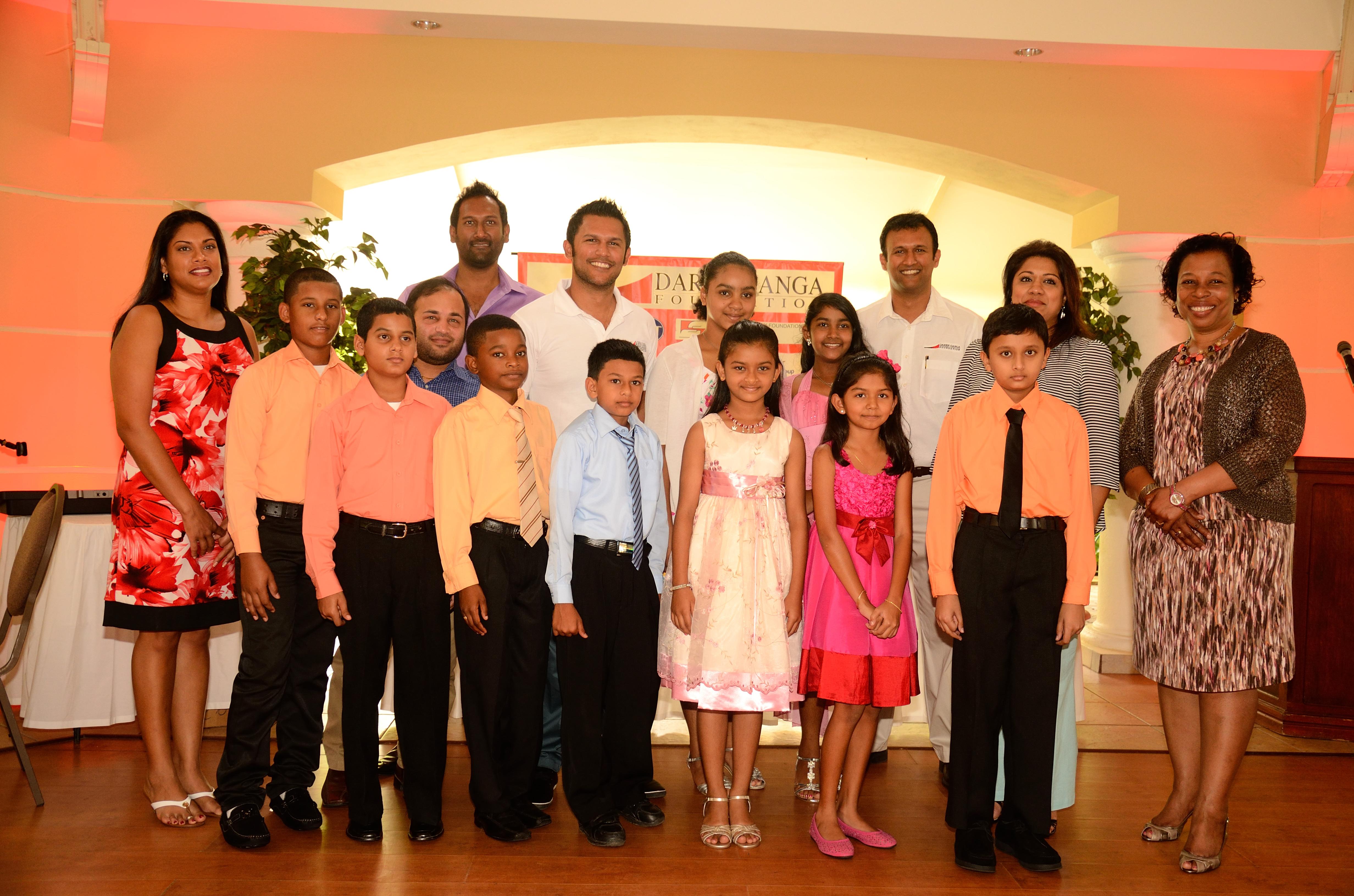 The Daren Ganga Foundation Graduation 2014